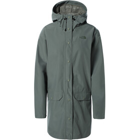 The North Face Woodmont Rain Jacket Women, verde